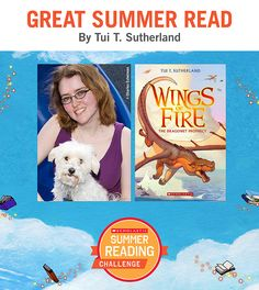 Need a new read for your child? Try Wings of Fire, by Tui Sutherland! Click through or visit scholastic.com/summer for more. #summerreading