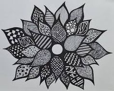 Risultati immagini per cool designs to draw with sharpie flowers