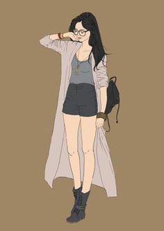 Read ⚛️fan art girl from the story Kumpulan gambar fan art untuk cover wattpad by with reads. Badass Girls Quotes, Tmblr Girl, Poses, Illustration Girl, Girl Wallpaper, Character Design Inspiration, Anime Art Girl, Fashion Sketches, Drawing Fashion