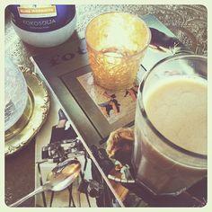 Sveper te med äggmjölk
