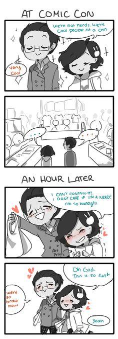 Anti-Social Media :: 24: Nerd at Heart | Tapastic Comics - image 1