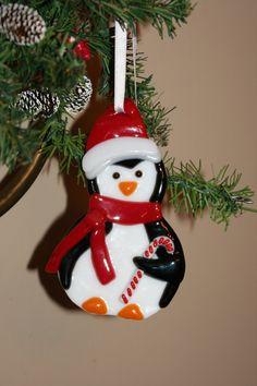 Glass Penguin Ornament. $18.00, via Etsy.