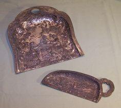 Antique Crumb Catcher Butler Dustpan Two Pieces Holland Windmills Made in Japan #DutchColonial #eBay #GotPicks