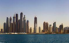 Dubai skyline by Daniel Carberry, via Flickr