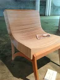 Resultado de imagem para cardboard chair