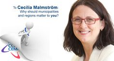 Cecilia Malmström, why should municipalities and regions matter to you? bit.ly/1f9Re7x