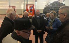 Die Zollverein-Steiger-Crew im Interview mit der WAZ bei unserem Family & FriendsDay im Dezember 2016.