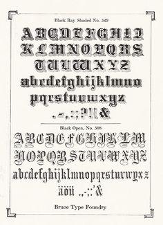 Victorian Typeface