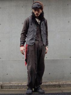 POST O'ALLSのベスト「cruzer vest」を使ったnesaiのコーディネートです。WEARはモデル・俳優・ショップスタッフなどの着こなしをチェックできるファッションコーディネートサイトです。