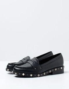 Bershka Turkey - BSK studded loafers
