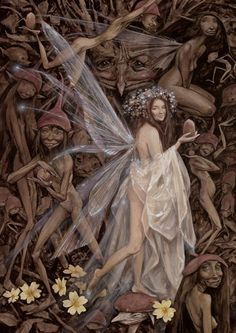 Nut Faery by Brian Froud