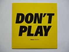 CD sampler / DON'T PLAY / GROOVE 101 CD ° 10 / 2006 / ELeCTRoNiC MuSiC