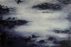 """Saatchi Art Artist Katrine P Funderud; Painting, """"Abstract landscape"""" #art"""