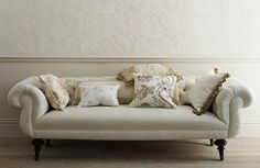 GP and J Baker -  Larkhill Fabric Collection -
