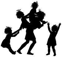 The Best Free Library (Clipart, Wallpapers, Fonts, Icons): Clipart/Black And White - Decorative Silhouettes (001-100)