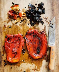 How to Roast Bell Peppers | Colman Andrews (This roasted bell peppers recipe tells you how to make them on the grill, in the oven, or on the stovetop.)