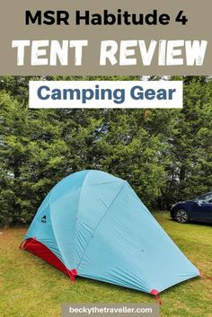 MSR Habitude - Family Camping Tent. A brilliant family or group camping tent. Read the full review about the MSR Habitude 4 person tent, also available as a 6-person option. Pros and cons of the tent plus useful information about the tent. #msr #camping Group Camping, Camping Guide, Family Camping, Tent Camping, Camping Gear, 4 Person Tent, Tent Reviews, Adventure Activities, Outdoor Gear