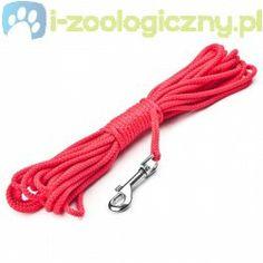 JULIUS K9 Pływająca lina dla psa - czerwona 10m