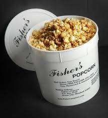 Fisher's popcorn in ocean city, maryland - the best popcorn.