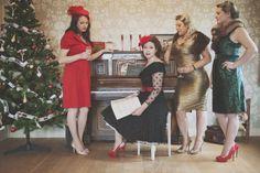 Hair: Hair by Jess Mac. Mac Makeup, Camilla, Photoshoot, Christmas, Photography, Vintage, Clothes, Dresses, Fashion