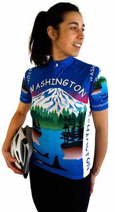 Women S Alaska Flag Short Sleeve Jersey 2xlarge Free Spirit Bike
