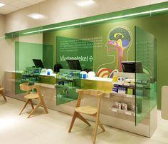 Pharmacy design: Swedish pharmacy Vårdapoteket graphic identity by Stockholm Design Lab