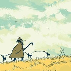 Animation I've always wanted to animate something sheep-related and here it is. There will be more, but animation is very time consuming. Art Et Illustration, Illustrations, Pixel Art, Anim Gif, Arte Indie, Les Gifs, Merian, Animation Reference, 3d Drawings