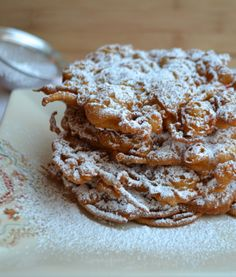 Mini Boardwalk Funnel Cakes | Cook This! with Shereen