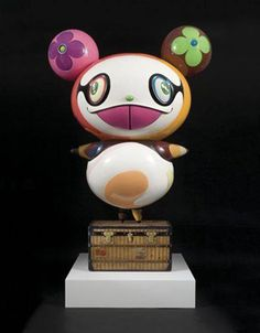 Panda - Takashi Murakami a Japanese artist who truly has unique vision. Though sometimes too out there.