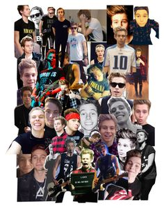 """""""A Tribute to Luke Hemmings"""" by bands-are-my-savior ❤ liked on Polyvore featuring art"""