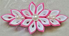 OMG I freaked out when I found out about all these diy kanzashi videos. Firstly because its super pretty and it seems extremely easy to make(i am not really sure if there is a knack to it that makes it easy or what). But sadly I couldn't find the ribbons of the right dimension and size to try out this project. But as soon as I do find some I am sure I'll love kanzashi! Just look how gorgeous it looks!!