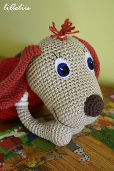 Free patterns, Lotte the dog, patroon ook in NL