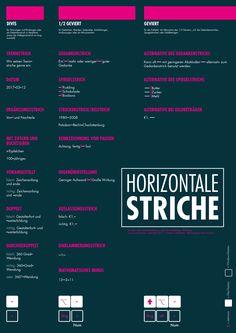 Aber richtig! Dafür gibt es von jo's büro für Gestaltung zwei kostenlose Plakate, die die korrekteAnwendung der horizontalen Striche zeigen. Nachdem die Poster zum Thema Korrekturzeichen im Jahr 2015großen Anklang fanden, widmete sich jo's büro für Gestaltungjetzt einem neuen Thema: den horizontalen Strichen. Schnell stellten die Kreativen aus Würzburg fest, dass es nicht möglich ist,...