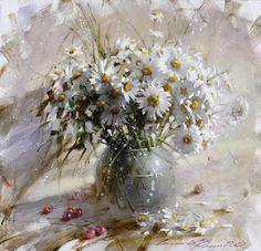 Ramil Gappasov and his floral impressionism