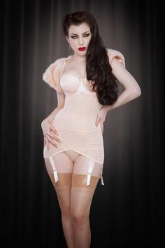 9496674c8ab Peach Cupless Vargas Dress Lingerie Outfits