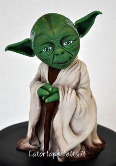 Edible Art. Yoda.   La torta perfetta