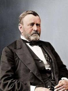 El presidente norteamericano Ulysses S. Grant, en algún momento tras su mandato. / Ulysses S Grant, sometime after his term.