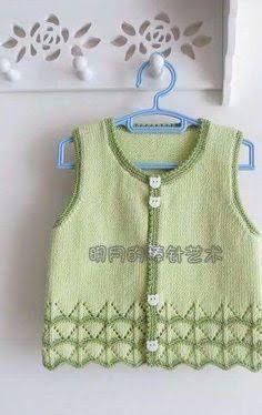 zuhal karaman ile ilgili görsel sonucu Moda Crochet, Crochet Baby, Knit Crochet, Knit Baby Sweaters, Baby Vest, Sweater Design, Baby Knitting Patterns, Baby Wearing, Knit Cardigan