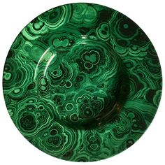 Large Malachite Serving Platter, Italy