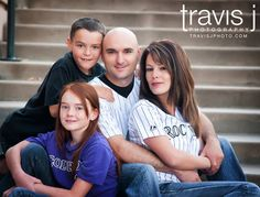 Coors Field Family Picture, Colorado Rockies, Baseball, Travis J Photography, Colorado