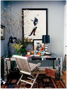 home office by elena #home #office #designs. Home office. Work space.