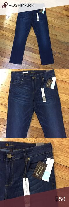 🎉SPECIAL JUST FOR TODAY!!!🎉 Brand new with tags. The REESE style KUT straight leg jeans. Nordstrom Jeans Straight Leg