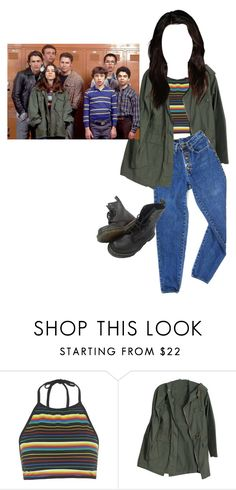 """""""Freaks and Geeks- Lindsay"""" by perfectjackbgg ❤ liked on Polyvore featuring Motel, PèPè and freaksandgeeks"""