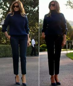 I love our 'First Lady' and NO ONE can walk in such high heels as graceful and with such confidence as our amazing 'First Lady' Melania ❤️🇺🇸❤️
