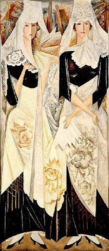 Goncharova, Natalia (1881-1962) - 1918C. Spanish Dancers (Christie's London, 2007)