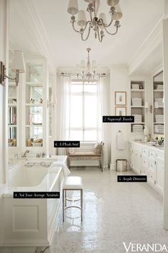 These little details make your bathroom a serene space. 