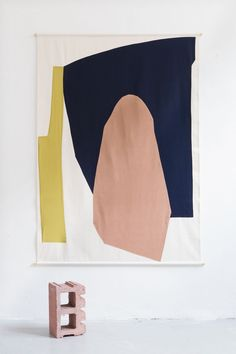This New Italian Studio Makes Textiles Inspired by Modern Art – Sight Unseen Studio Testo, founded last year in Milan, designs textiles that are on-trend and easily understood, but packed with references to modern art. Palette Pastel, Illustration Arte, Art Et Design, Contemporary Abstract Art, Modern Artwork, Textile Art, Diy Art, Fiber Art, Illustrator