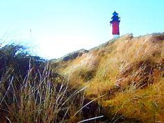 'Leuchtturm von Amrum' von Dirk h. Wendt bei artflakes.com als Poster oder Kunstdruck $18.03