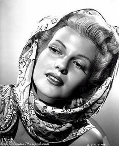 Rita Hayworth in The Dame of Shanghaï by Orson Welles.