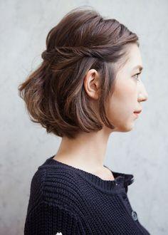 Raccolto per capelli corti